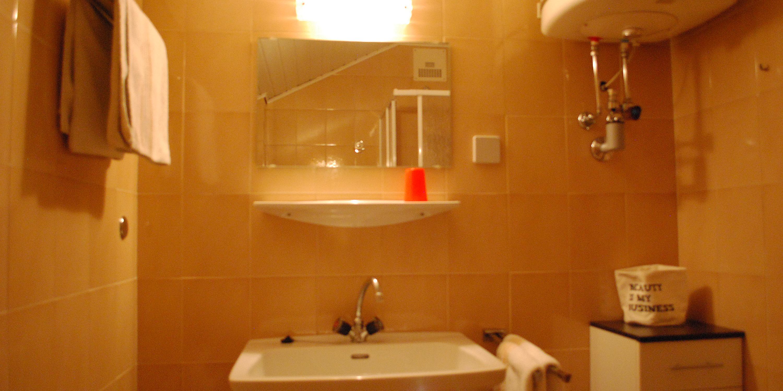 Badezimmer der Ferienwohnungen am Faaker See