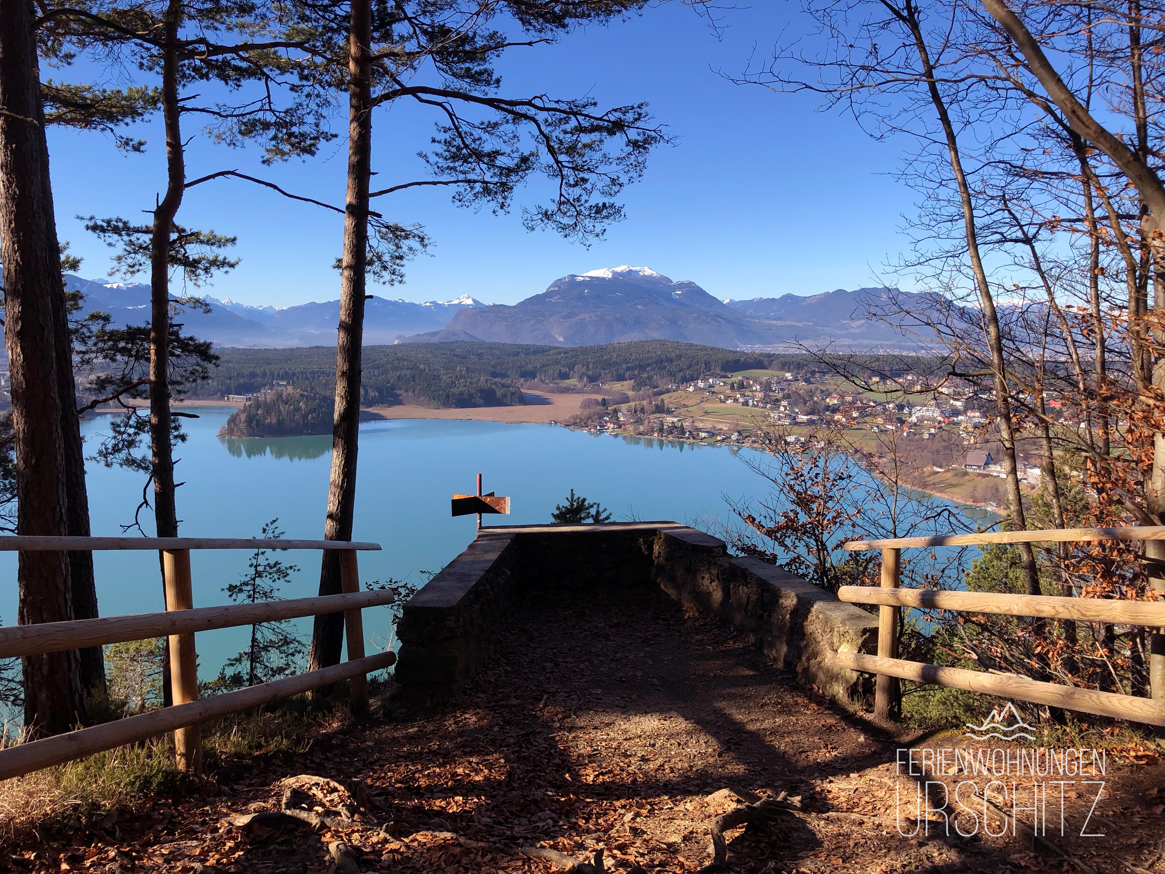 Taborhöhe mit Faaker See Blick